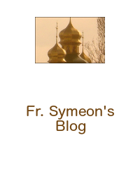 Father Symeon's Blog