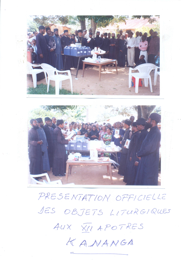 Presentation of Liturgical Items